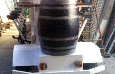 Half Fiberglass Barrel