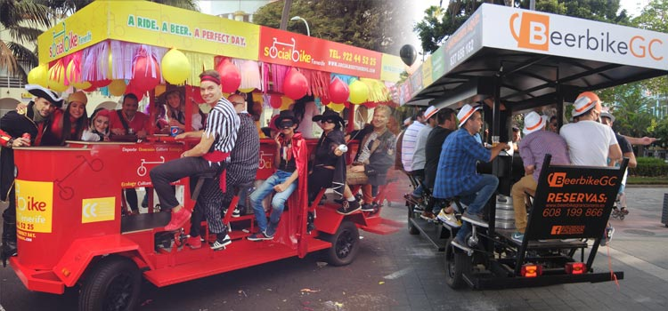 Party Bike also in Canary Islands!